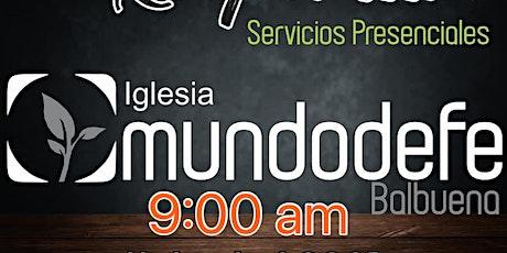 1er Servicio MDF 18 Abril - 9am boletos