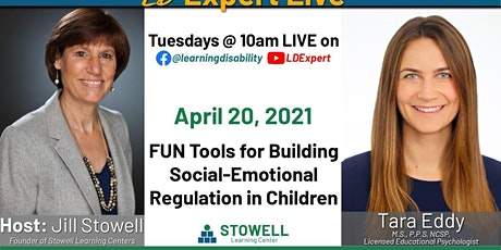 LD Expert Live!- Social Emotional Regulation in Children tickets