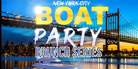 #1 NYC BRUNCH  BOAT PARTY CRUISE  NEW YORK CITY VIEWS  OF STATUE OF LIBERTY tickets