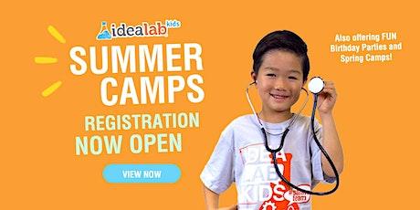 OPEN HOUSE SUMMER CAMP 2021 @ IDEA Lab Kids-Spring Branch tickets