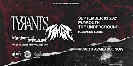 TYRANTS + FANGS | Plymouth tickets