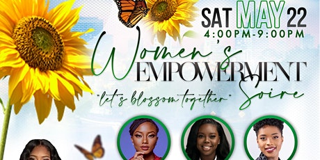 Women's  Empowerment Soirée (Let's Blossom Together) tickets