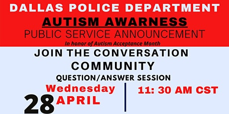 Autism Awareness PSA tickets