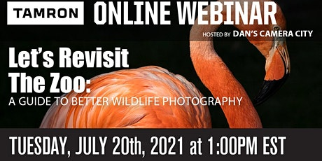 Let's Revisit the Zoo: a guide to better wildlife photography tickets
