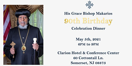 Celebration of His Grace Bishop Makarios's 90th Birthday tickets