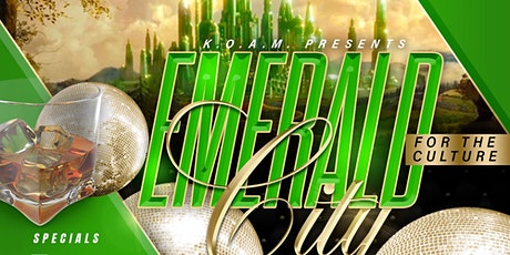 Emerald City party tickets