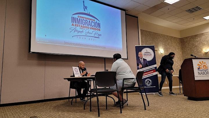 """Imagen de Conferencia """"Inmigración a Estados Unidos"""" Tampa, FL. Tour 2021"""