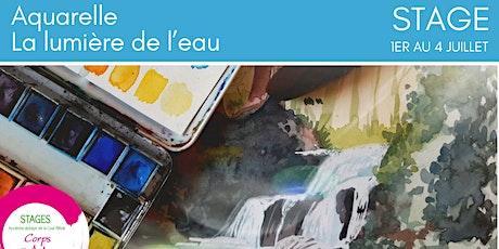 Stage d'été : Aquarelle : La lumière de l'eau billets