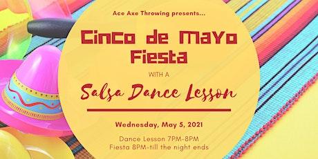 Cinco De Mayo Fiesta with a Salsa Dance Lesson tickets