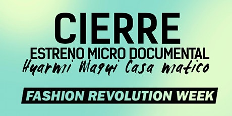 Cierre Fashion Revolution Week tickets
