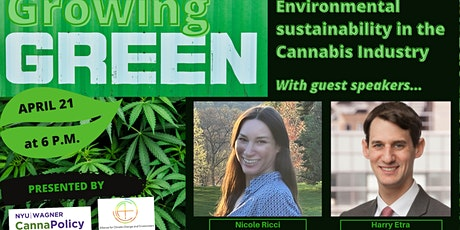 Growing Green: Environmental Sustainability in the Cannabis Industry tickets