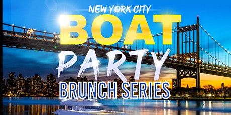 #1 NYC BRUNCH BOAT PARTY YACHT CRUISE AROUND NEW YORK CITY SUNSET tickets