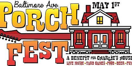 Baltimore Porch Fest tickets
