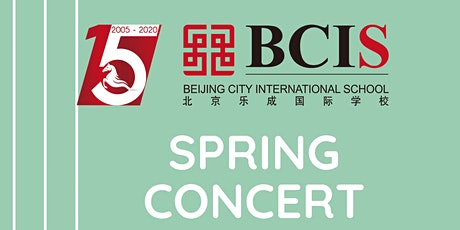 BCIS Secondary School Spring Concert tickets