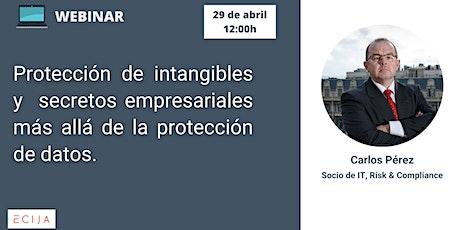 Protección de intangibles y secretos empresariales. entradas