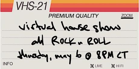 Derek Webb Virtual House Show - all Rock n Roll tickets