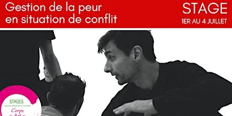 Stage d'été : Gestion de la peur en situations de conflit - par le Systema billets