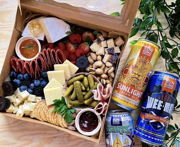 Board and You Charcuterie + Sun King Beer Pairing Event image