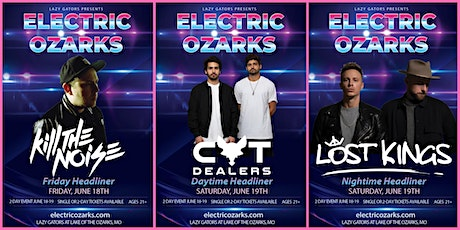 Electric Ozarks at Lazy Gators June 18-19 tickets