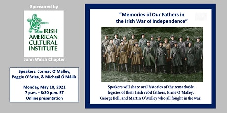 Memories of Our Fathers in the Irish War of Independence tickets