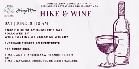 Hike and Wine tickets