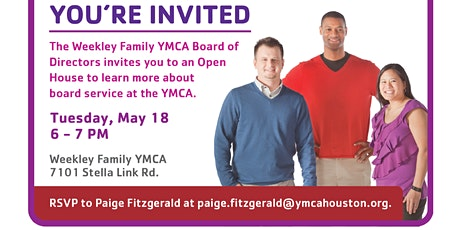 Weekley YMCA - Board Interest Social tickets