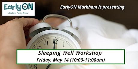 Sleeping Well Workshop tickets