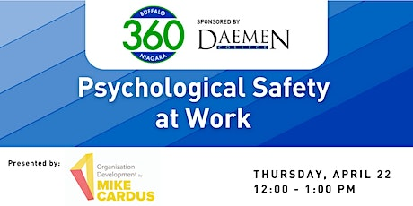 BN360 Event: Psychological Safety in the Workplace tickets