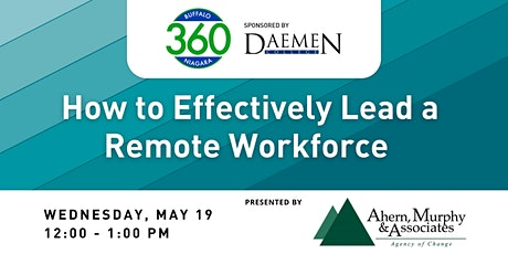 BN360 Event: How to Effectively Lead a Remote Workforce tickets