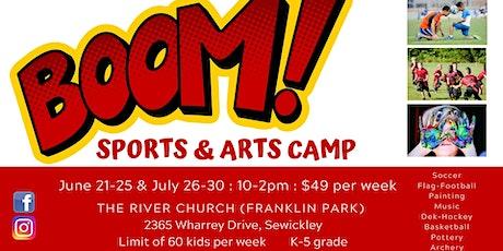 Boom! Sports & Arts Camp tickets