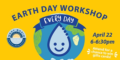 Water Efficiency Workshop - Earth Day tickets