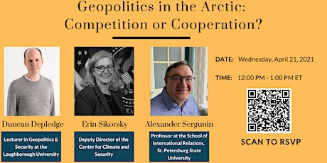 Geopolitics in the Arctic: Competition or Cooperation? tickets