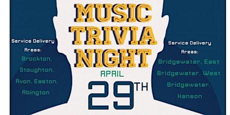 MassHire Greater Brockton Workforce Board Presents..... MUSIC TRIVIA Night tickets