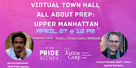 Virtual Town Hall: All About PrEP, Upper Manhattan tickets