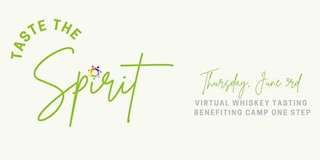 Taste the Spirit: Virtual Whiskey Tasting tickets