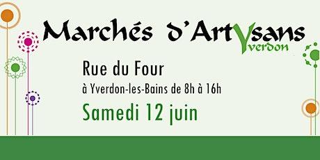 Marché d'été à la Rue du Four  (12.06.21) tickets