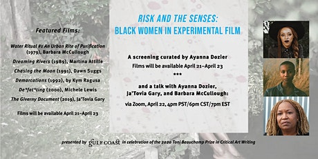 Risks and the Senses: Black Women in Experimental Film tickets