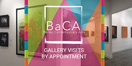 Bailey Contemporary Arts Gallery Visits by Appt. - Thurs. Evening ONLY tickets