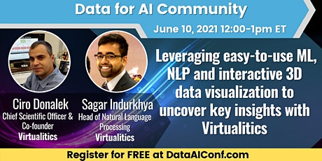 Data for AI: Leveraging ML, NLP & data visualization to uncover insights tickets