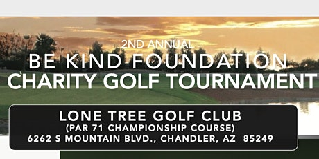 Be Kind Foundation Charity Golf Outing tickets