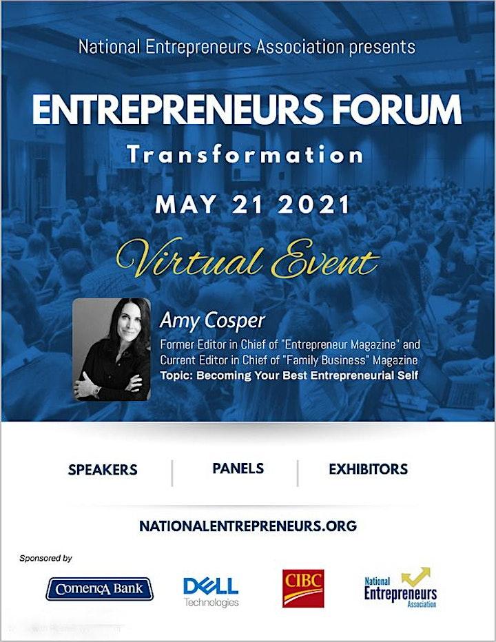 Entrepreneurs Forum: Transformation image