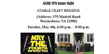 GAAR YPN Game Night tickets