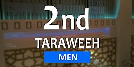 Taraweeh 15 - 22 April @ 11:00pm (8-NIGHTS) - MEN ONLY tickets