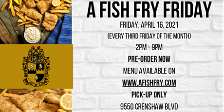 Fish Fry Friday (Alpha Caring and Empowerment) tickets