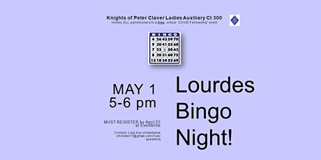 Lourdes Bingo Night tickets