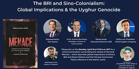 The BRI and Sino-Colonialism: Global Implications and the Uyghur Genocide tickets