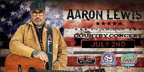 Aaron Lewis tickets