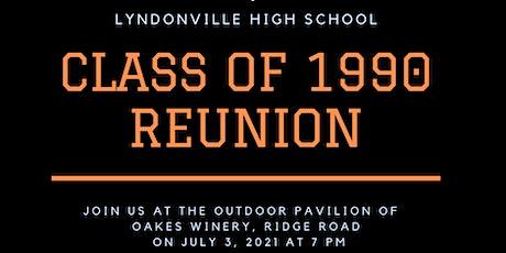 Lyndonville Class of 1990 Reunion tickets