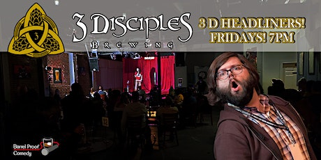 3D Headliners - Funny Fridays With Chad Opitz! tickets