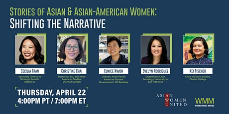 Stories of Asian & Asian-American Women: Shifting the Narrative tickets